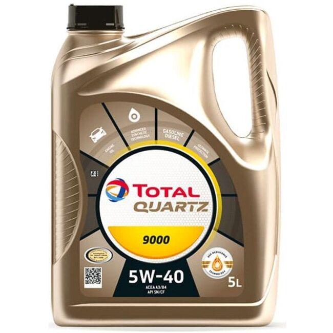 Моторное масло Total Quartz 9000 5W40 5л