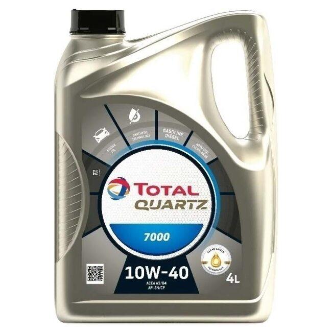Полусинтетическое масло Total Quartz 7000 10W40 4л