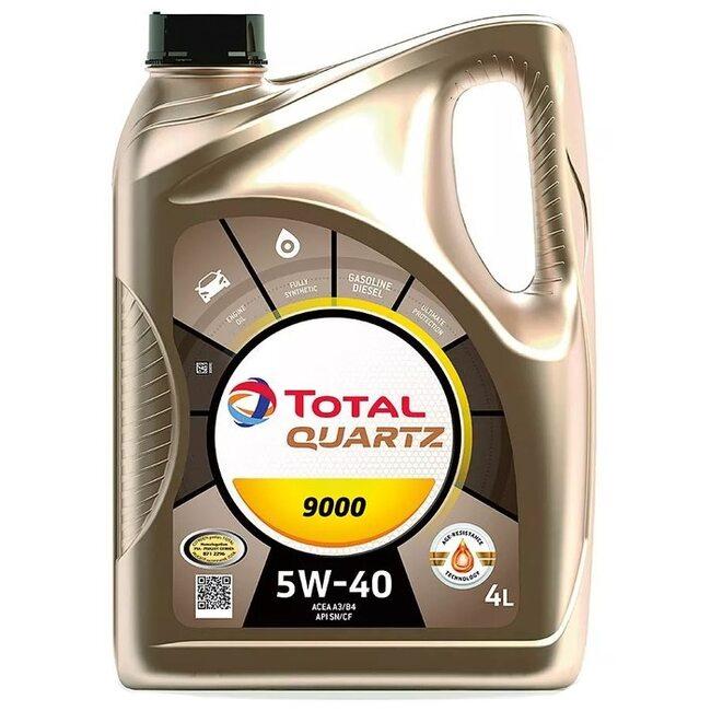 Моторное масло Total Quartz 9000 5W40 4л
