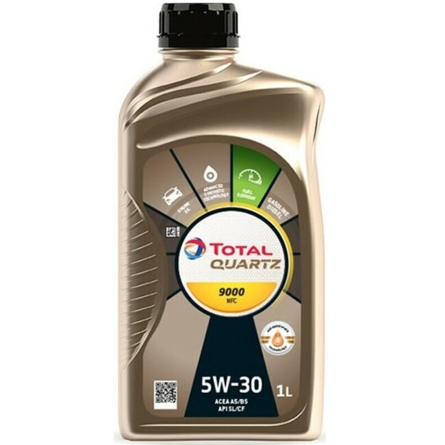 Топливосберегающее масло Total Quartz 9000 Future NFC 5W30 1л