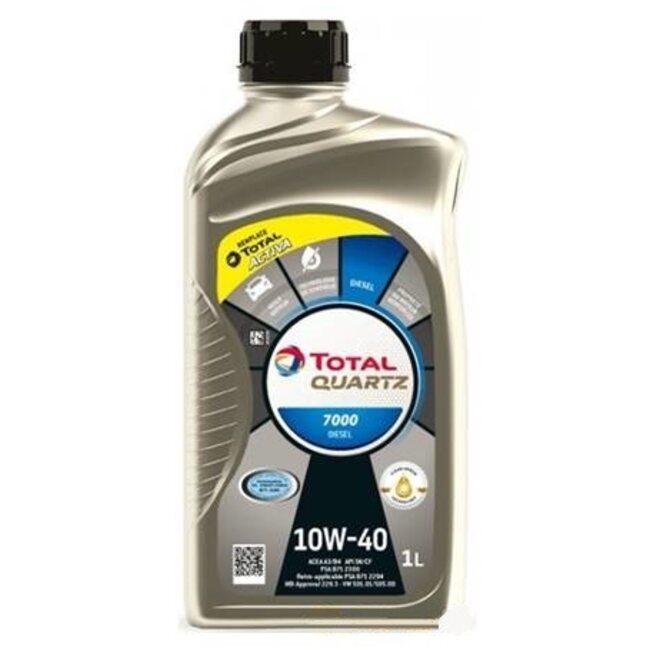 Моторное масло Total Quartz Diesel 7000 10W40 1л