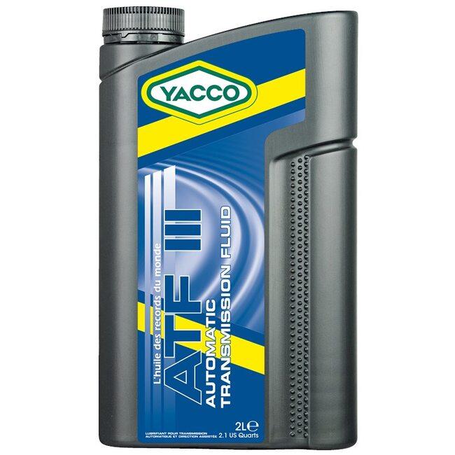Трансмиссионное масло АКПП Yacco ATF III 2л