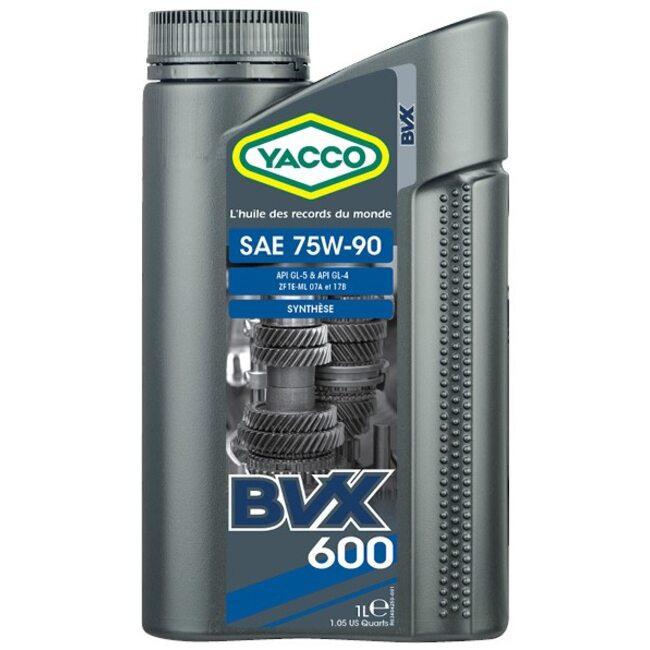 Масло в МКПП GL4, Gl-5  Yacco BVX 600 75W90 1л