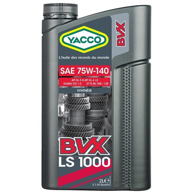 Трансмиссионное масло МКПП Yacco BVX LS 1000 75W140 2л
