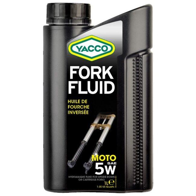 Масло для вилок и амортизаторов Yacco FORK FLUID 5W 1л