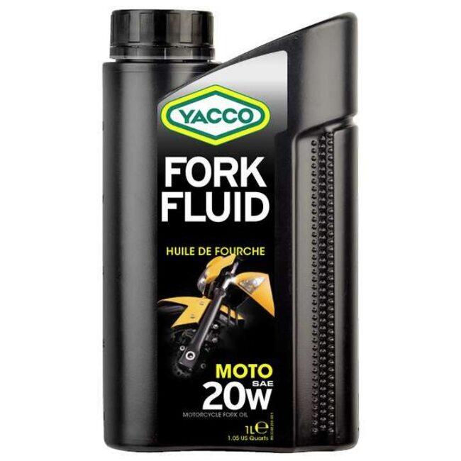 Вилочное масло Yacco FORK FLUID 20W 1л