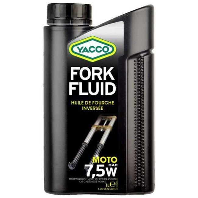 Вилочное масло Yacco FORK FLUID 7.5W 1л