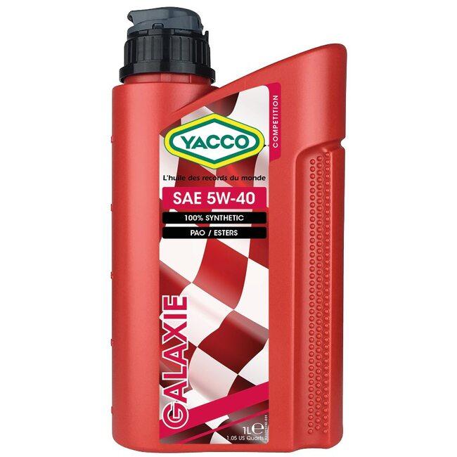 Моторное масло Yacco GALAXIE 5W40 1л