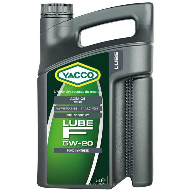 Моторное масло Yacco LUBE F 5W20 5л