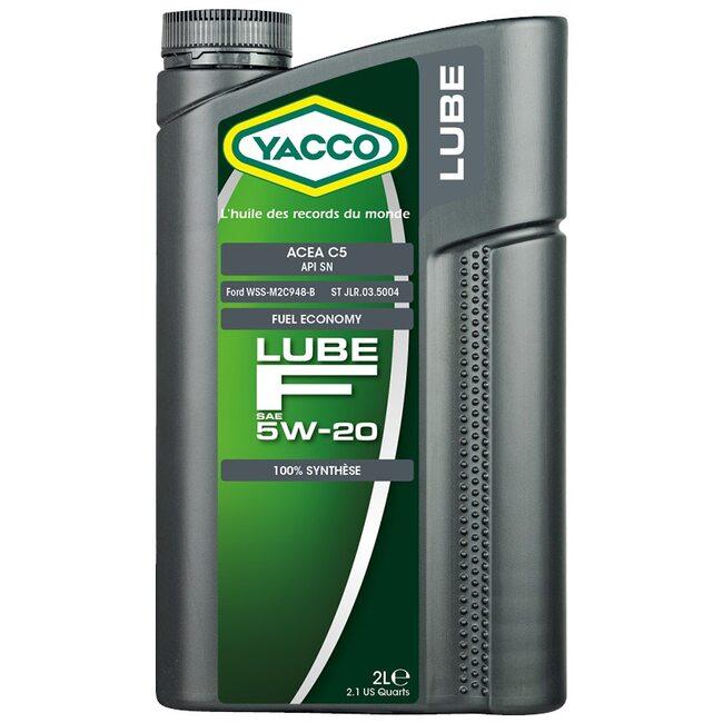 Моторное масло Yacco LUBE F 5W20 2л