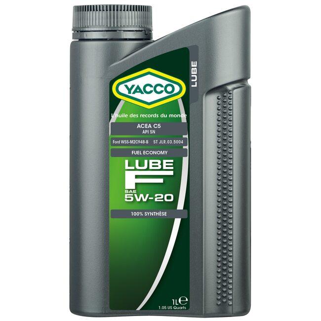 Моторное масло Yacco LUBE F 5W20 1л