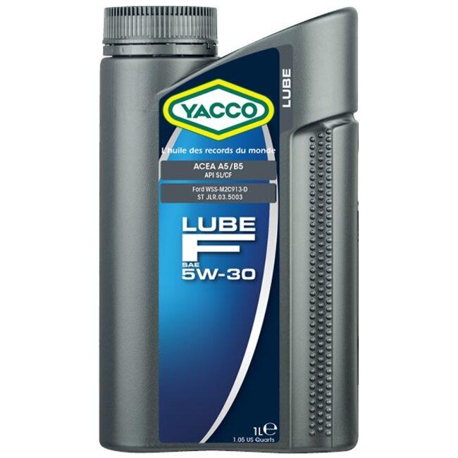 Моторное масло Yacco LUBE F 5W30 1л