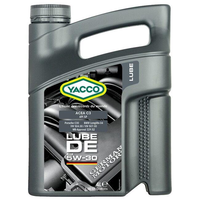 Моторное масло Yacco LUBE DE 5W30 4л