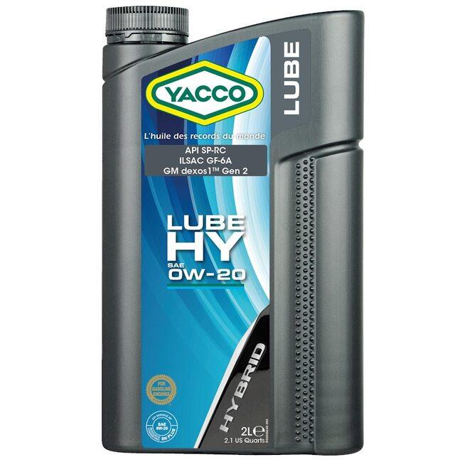 Моторное масло Yacco LUBE HY 0W20 2л