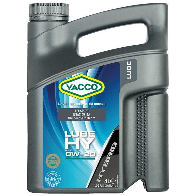 Моторное масло Yacco LUBE HY 0W20 4л