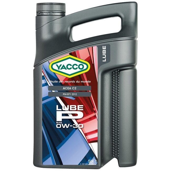 Моторное масло Yacco LUBE P 0W30 5л