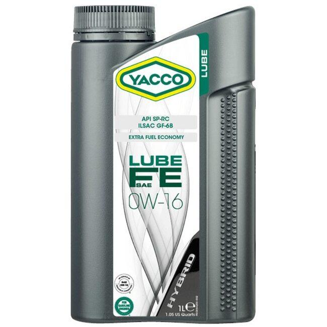 Моторное масло Yacco LUBE FE 0W16 1л