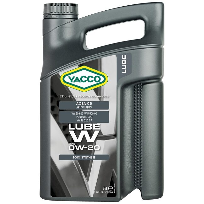 Моторное масло Yacco LUBE W 0W20 5 литров