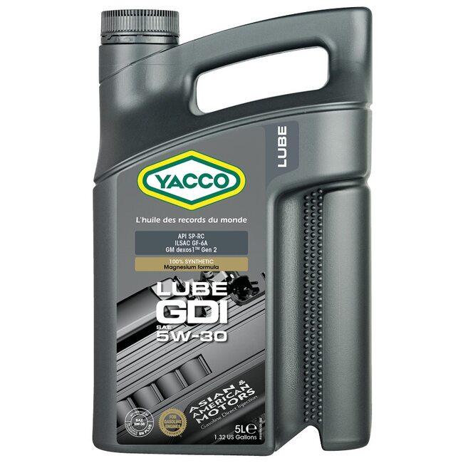 Моторное масло Yacco LUBE GDI 5W30 5л