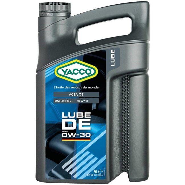 Моторное масло Yacco LUBE DE 0W30 5л