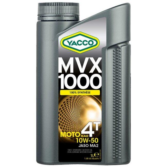Масло для мотоциклов Yacco MVX 1000 4T 10W50 1л