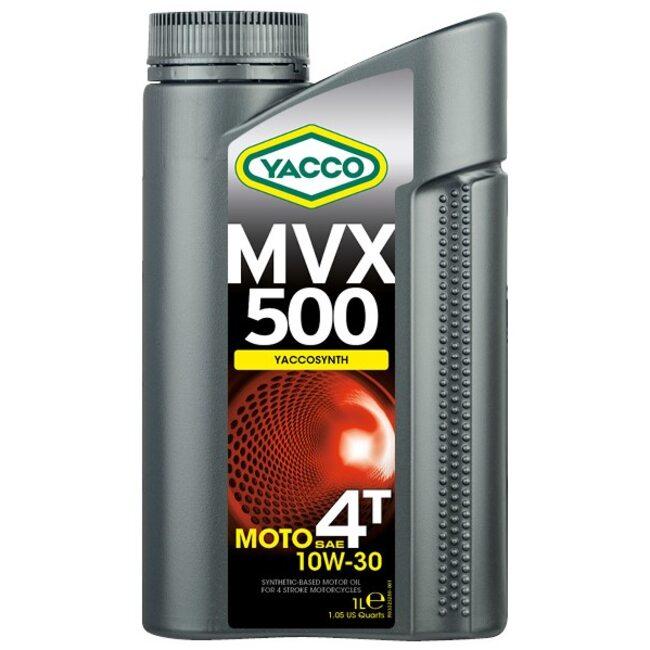Масло для мотоциклов Yacco MVX 500 4T 10W30 1л