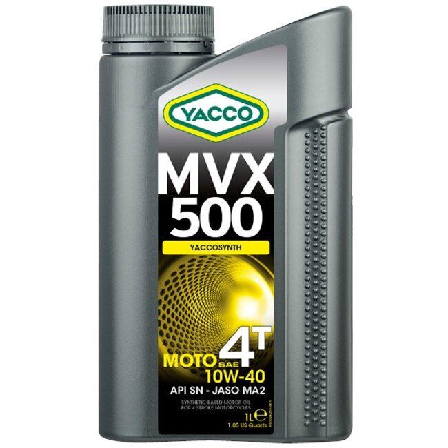 Масло для мотоциклов Yacco MVX 500 4T 10W40 1л