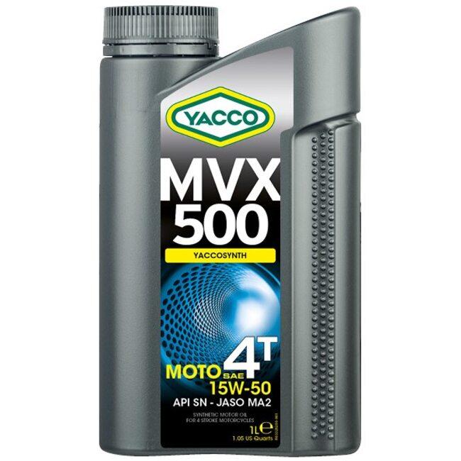 Масло для мотоциклов Yacco MVX 500 4T 15W50 1л
