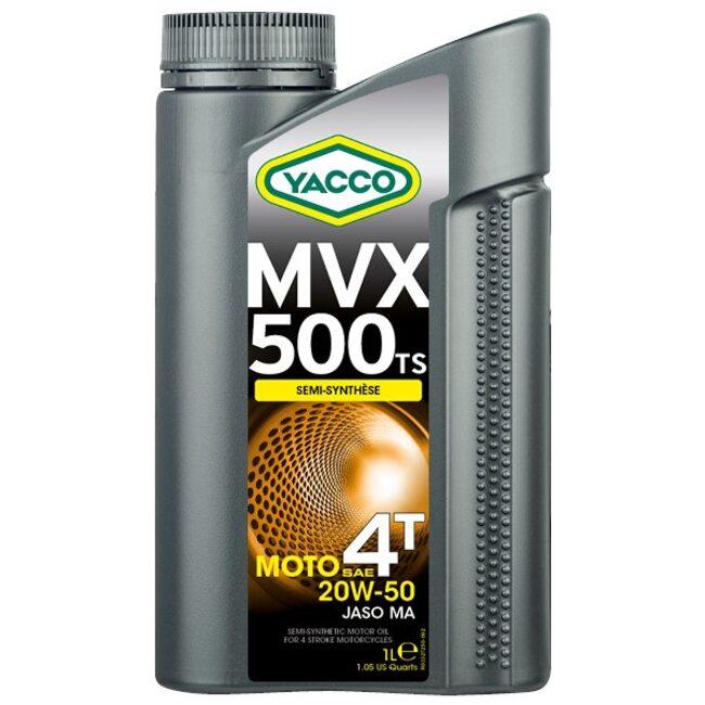 Масло для мотоциклов Yacco MVX 500 TS 4T 20W50 1л