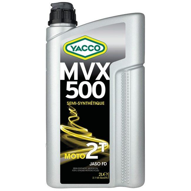 Масло для мотоциклов Yacco MVX 500 2T 2л