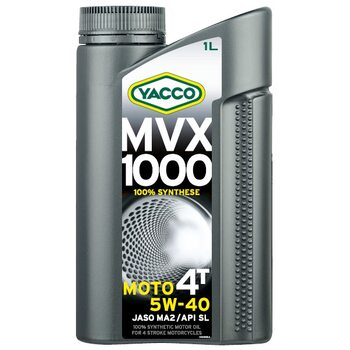 Yacco MVX 1000 4T 5W40 1л