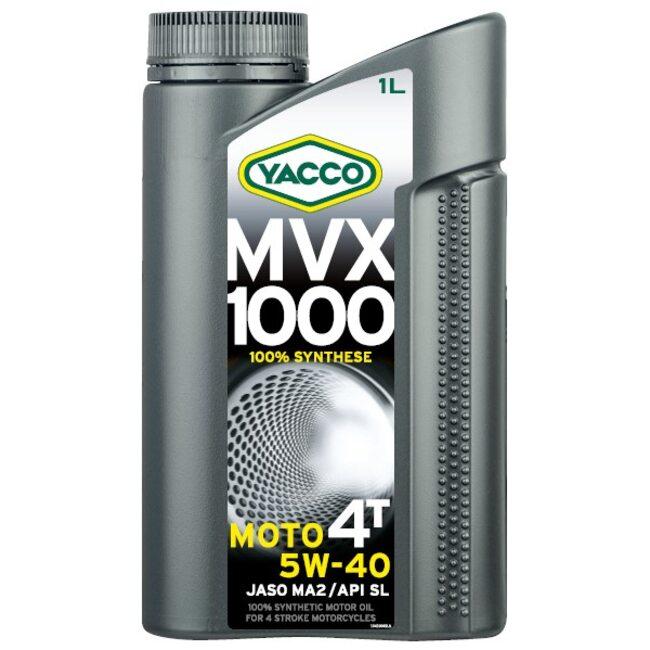 Масло для мотоциклов Yacco MVX 1000 4T 5W40 1л