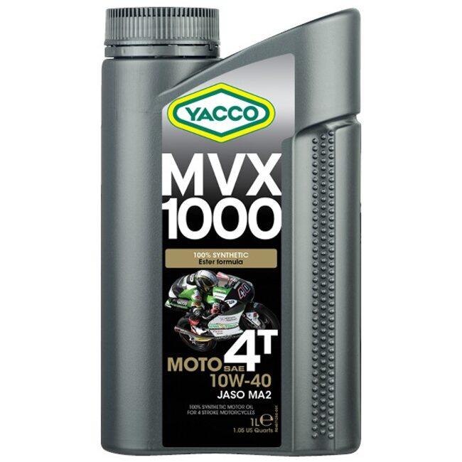 Масло для мотоциклов Yacco MVX 1000 4T 10W40 1л