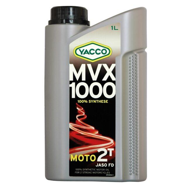 Моторное масло 2T Yacco MVX 1000 1 л