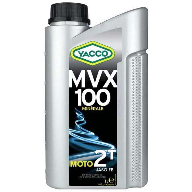 Моторное масло для 2т двигателей Yacco MVX 100 2T 1л