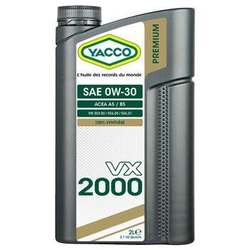 Yacco VX 2000 0W30 2л
