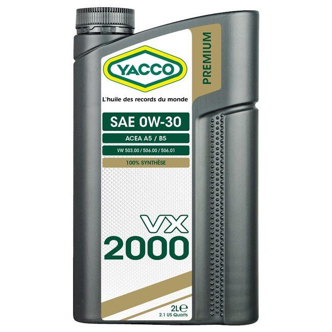 Моторное масло Yacco VX 2000 0W30 2l