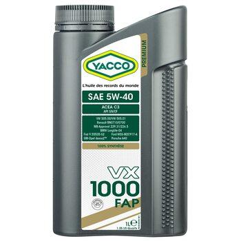 Yacco VX 1000 FAP 5W40 1л