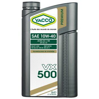 Yacco VX 500 10W40 2л