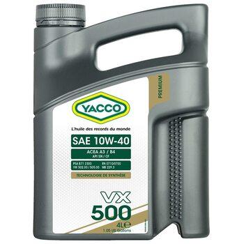 Yacco VX 500 10W40 4л