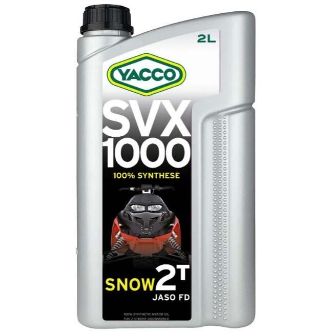 Масло для снегоходов Yacco SVX 1000 SNOW 2T 2л