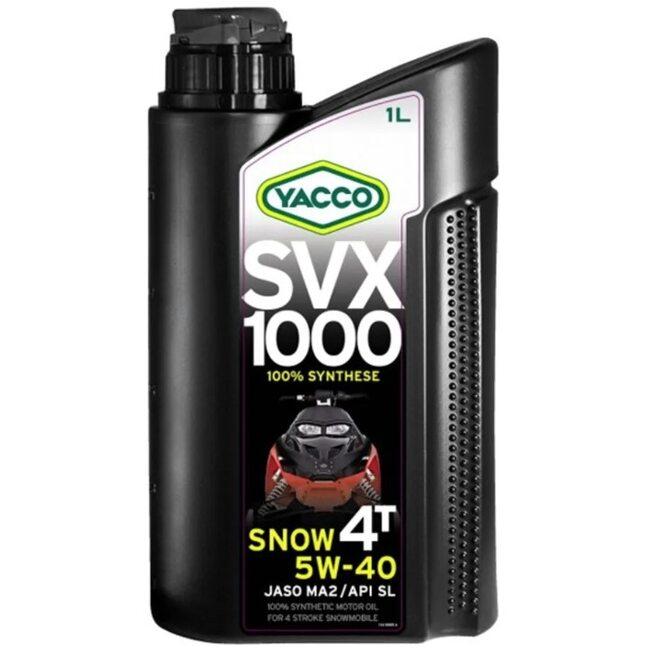 Масло снегоходов Yacco SVX 1000 SNOW 4T 5W-40 1л