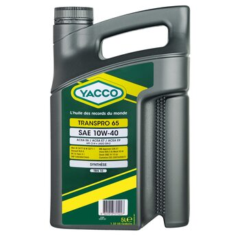 Yacco TRANSPRO 65 10W40 5л