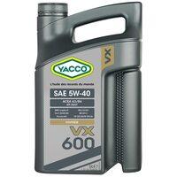 Yacco VX 600 5W40 5л