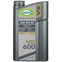 Yacco VX 600 5W40 2л