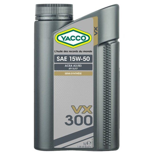 Моторное масло Yacco VX 300 15W50 1л