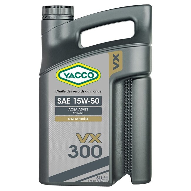Моторное масло Yacco VX 300 15W50 5л