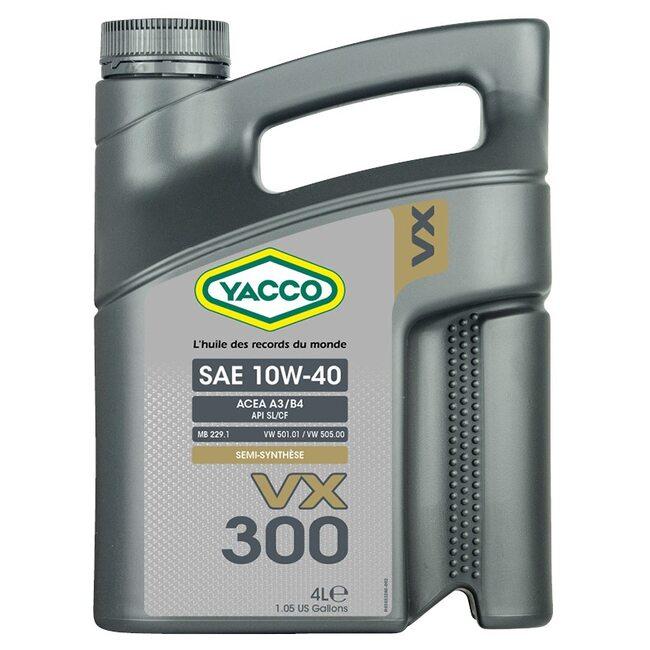 Низкотемпературное масло Yacco VX 300 10W40 4л