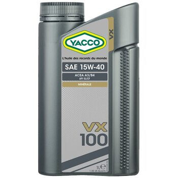Yacco VX 100 15W40 1л