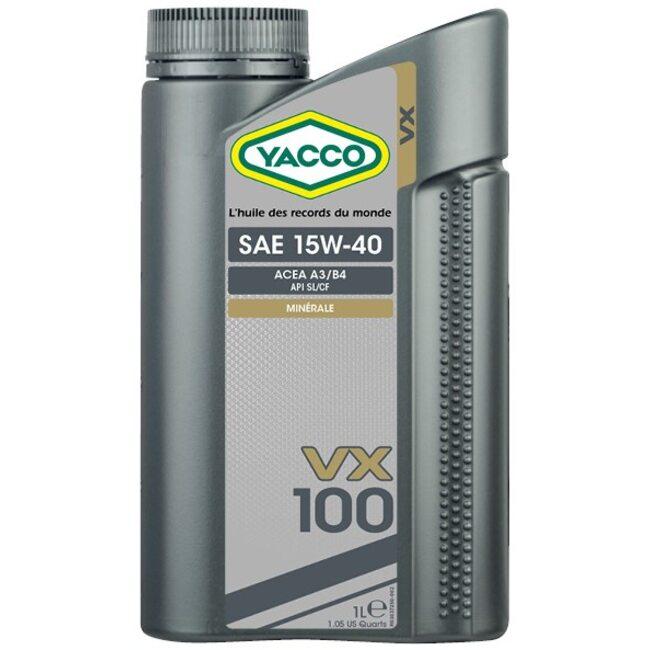 Моторное масло Yacco VX 100 15W40 1л